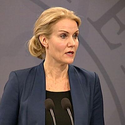 Danmarks statsminister Helle Thorning-Schmidt.