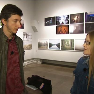 Stradan Ivan ja toimittaja Johanna Vehkoo.