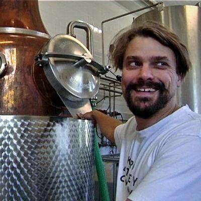 Kalle Valkonen är en av ägarna i Kyrö Distillery.