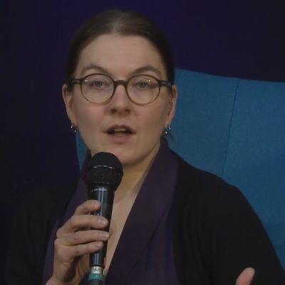 Malin Grahn-Wilder Helsingin kirjamessuilla 2016