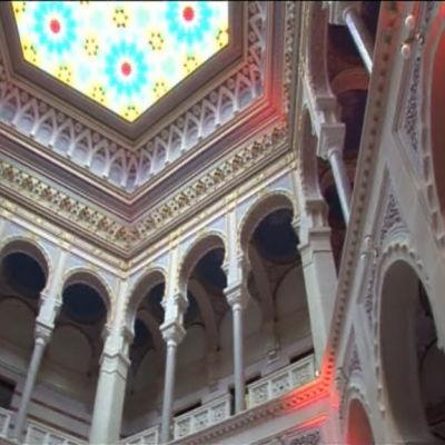 Nationalbiblioteket i Sarajevo återinvigdes