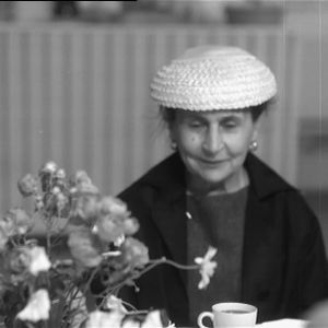 Rouva Sylvi Kekkonen messuilla