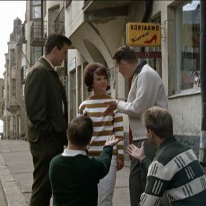 Ann-Christine ja Four Cats elokuvassa Lauantaileikit (1963)