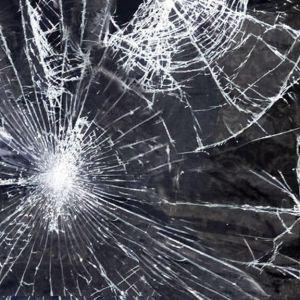 Ett söndrigt fönsterglas