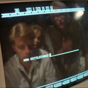 Tietokone elokuvassa Insiders.