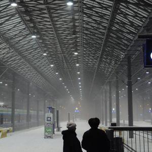 Helsingfors järnvägsstation.