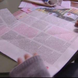 Camilla viker papper