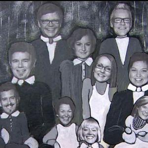 Camillas version av ett Strömsö-familjeporträtt