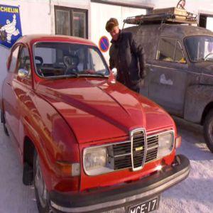 Bengt introducerar Elisabeths bil.