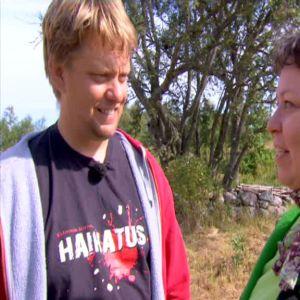 Henrik Jansson leder talkoarbetet
