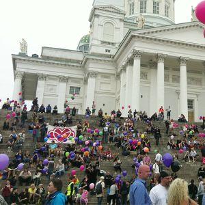 Prideparaden i Helsingfors 2013