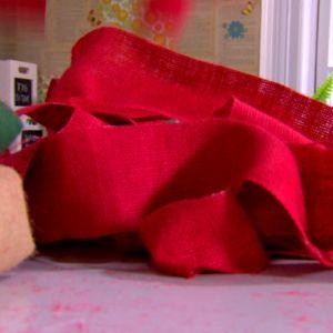 Rött säckväv