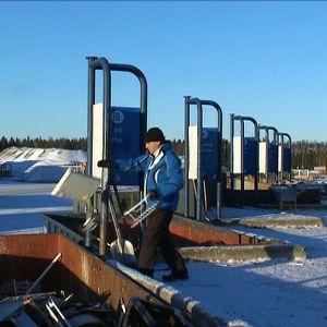 Återvinningsstationen på Stormossen