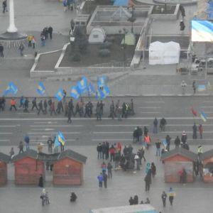 Morgonen gryr i Kiev