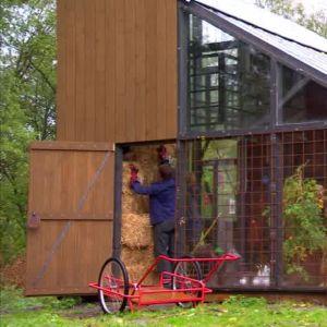 Växthuset är klart för invigning