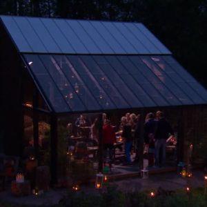 Invigningsfest av växthuset