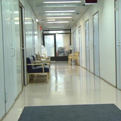 Ett väntrum på en hälsovårdscentral