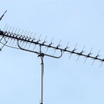 TV-antenn på tak