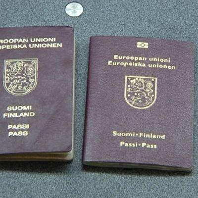 Finländska pass.