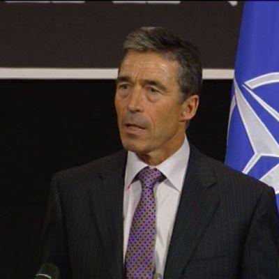 Natos generasekreterare Anders Fogh Rasmussen