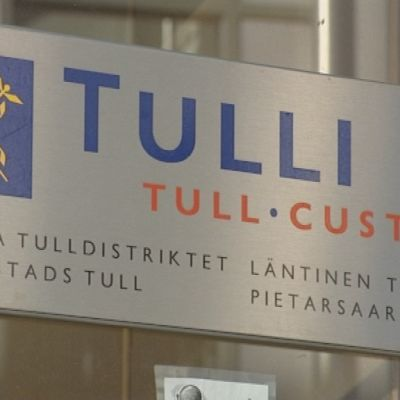 Tullen i Jakobstad är nedläggningshotad.