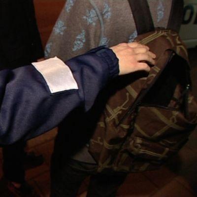 Polisen granskar ryggsäck