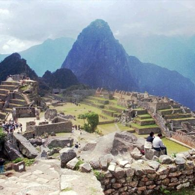 Inkastaden Machu Picchu