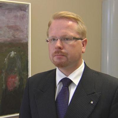 Skyddspolisens chef Ilkka Salmi