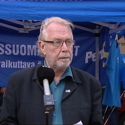 Putkonen talade i Tammerfors i dag