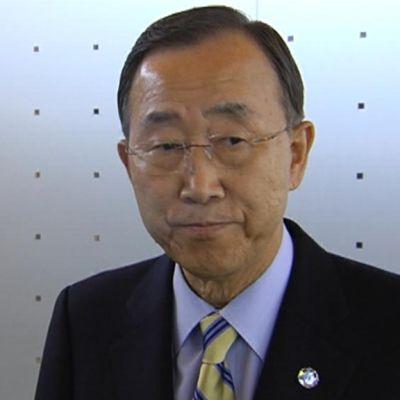 Ban Ki-Moon besöker Finland