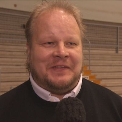 Pasi Räsänen, tränare för Vasa Sport