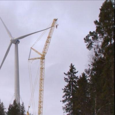 Merventos vindkraftverk i Sundom.