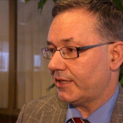 Han-Erik Lindqvist, stadsdirektör  i Närpes.