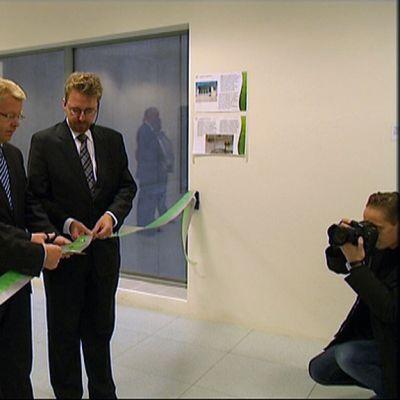 Jyri Häkämies invigde Westenergy