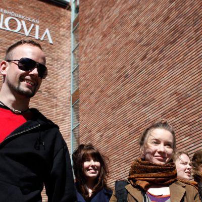 Arkivbild från Novias bildbank: Campus Vasa, Wolffskavägen