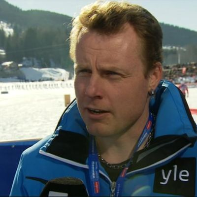 Yle Sportens expertkommentator Glenn Lindholm