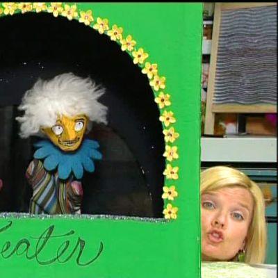 Lee och Camilla och deras dockteater