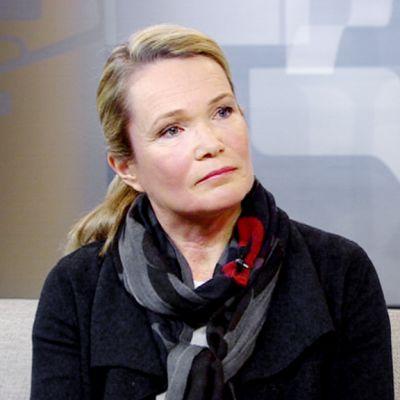 Mirjam Kalland gästade Yles morgon-tv