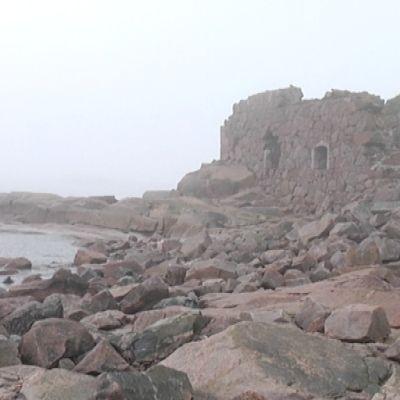 Gustavsvärns befästning vittrar sönder