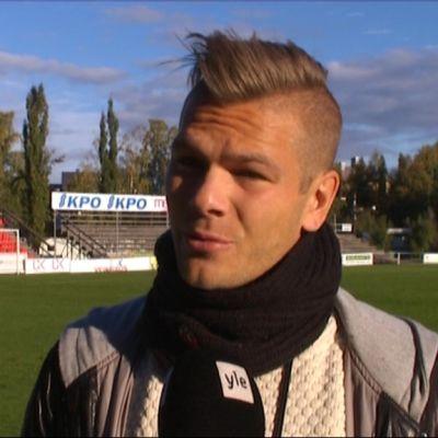 Sebastian Strandvall, lagkapten i VPS.