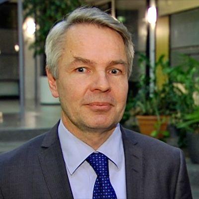 Minister Haavisto är beredd att diskutera statlig ägande