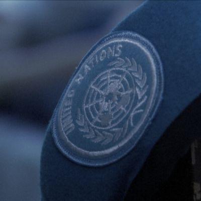 Suomen rauhanturvaajan sinenen baretti