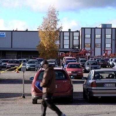 Sandvikin Tampereen tehdas.
