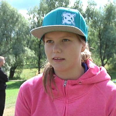Frisbee naisten Suomen mestari Henna Blomroos