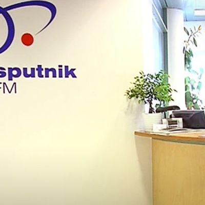 Radio Sputnikin toimitus Helsingissä.