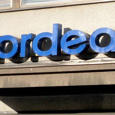 Nordea-pankin kyltti.