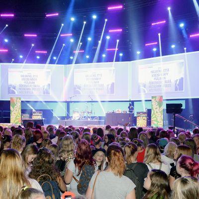 Tubecon -tapahtuma Helsingissä.