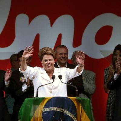 Dilma Rousseff .