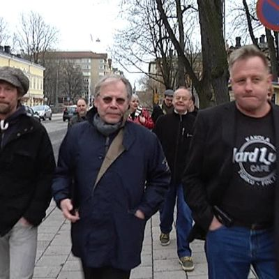 Antti Reini, Lauri Törhönen ja Reijo Mäki.