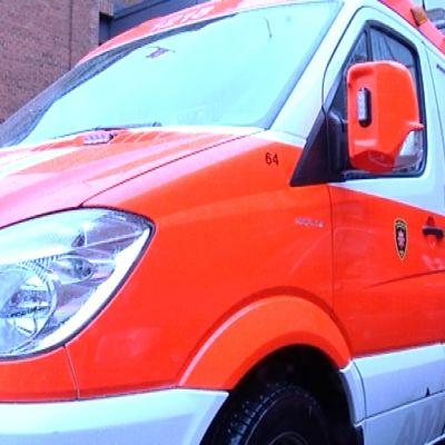 Varsinais-Suomen pelastuslaitoksen ambulanssi
